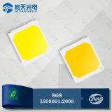 Blanco caliente 0.2W 0.5W SMD LED 2835 aprobado por CNAS para la iluminación comercial
