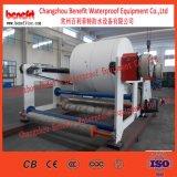 Размотчица для доработанной битумной спиральной линии материального производства