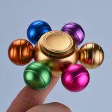 다채로운 무지개 3 Apple 핑거 장난감 싱숭생숭함 손 방적공