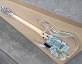 Hanhai Musik/elektrische acrylsauergitarre mit bunten LED-Lichtern