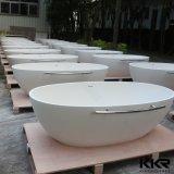 Heißer ovaler Entwurfs-freistehende Aufbau-Badewannen