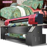 직접 인쇄하는 직물을%s Epson Dx7 Printheads 1.8m/3.2m 인쇄 폭 1440dpi*1440dpi 해결책을%s 가진 리넨 직물 인쇄 기계