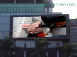 Alta pantalla video al aire libre del brillo P8 LED con 1/4 módulo de exploración