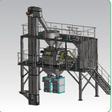 Chaîne de production sèche spéciale containerisée de mortier de structure simple