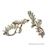 2017 Nieuw Ontwerp 925 Zilveren Ring met de Halfedelsteen van de Kleur (R10720)