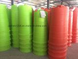 Poignée pratique Colorée Étoile esthétique 900mm Plastic Traffic Drum