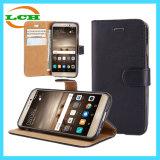 Аргументы за Huawei Mate9 телефона кожи Flip бумажника гнезда для платы