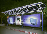 510g, 300 * 500d / 18 * 12 Banner flexível retroiluminado para tinta Eco Solvente