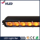 단 하나 줄 차 LED 표시등 막대 플러드 또는 반점 Offroad 4X4 표시등 막대 50 인치 20 인치