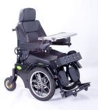Posição Malfunctional médica acima da cadeira de rodas elétrica da potência para pessoa Disabled