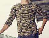 100%년 면 민감하는 인쇄 Camo t-셔츠