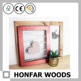 Het moderne Rode Houten Frame van de Foto van het Beeld voor de Decoratie van het Huis