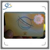 Cartão plástico da alta segurança com impressão Anti-Falsificando