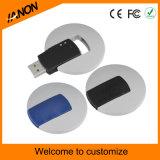 로고를 가진 주문 플라스틱 USB 섬광 드라이브