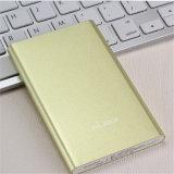 Acessórios portáteis do telefone móvel do banco 5000mAh da potência com bateria do Li-íon