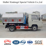 camion de levage de transport de la distribution d'ordures de bras de crochet de l'euro 3 de 5cbm Foton Forland