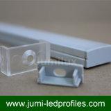 Nariz de aluminio anodizada de la escalera/con perfil del LED