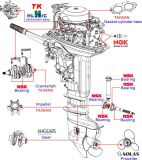 4 Anfall-Außenbordmotor