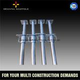ポストの支注および平板のコンクリートの構築のための足場鋼鉄支柱