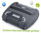Impresora Handheld termal móvil Wsp-I450 del recibo de Woosim 112m m Bluetooth mini