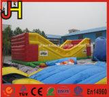 Diapositiva inflable de la bola de Zorb de la diapositiva inflable de la bola