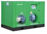 Compresseur d'air exempt d'huile de vis du graissage 110kw 150HP de l'eau