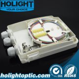 Rectángulo terminal de fibra óptica al aire libre de 12 bases