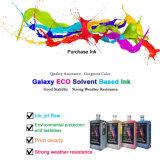 La galaxia original conserva la tinta Eco-Solvent de 24 meses para la cabeza de impresión de Epson Dx 4/5/7