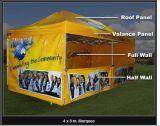 Het goedkope Openlucht Economische Frame die van het Aluminium Tent voor Reclame vouwen