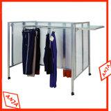 Système de rangement à étagères suspendues en métal