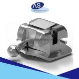 Auto-Ligando o metal Ortho dental dos suportes