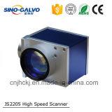 Gravura do laser/cabeça análoga do Galvo Js2205 da abertura feixe da estaca Machine12mm