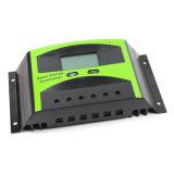 индикация LCD регулятора разрядки обязанности 12V/24V 50A солнечная с светлым управлением Ld-50b отметчика времени