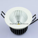 Empotrado 7W / 9W / 12W COB LED techo LED Downlight lámpara COB