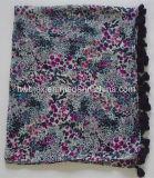 La meilleure écharpe de vente d'infini du polyester 2017 avec les glands (HWBPS75)