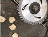 円炭化タングステンの鋼鉄刃かTctは木製の切断については鋸歯を