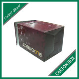 Flat Pack Custom Corrugated Paperboard Paper Carton Box