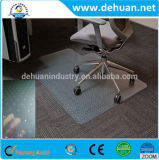 Fabrik kundenspezifischer Belüftung-Büro-Stuhl-Plastikfußboden-Matte