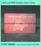 Cartão do membro de clube feito do PVC com listra magnética (ISO 7811)