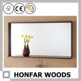 Blocco per grafici di legno classico dello specchio del Brown di grande formato per l'hotel