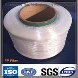 fibra material de 100%Polypropylene PP (fibra larga del monofilamento del polipropileno)