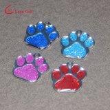 Markering van de Hond van Glittery van de Douane van de fabriek de Poot Gevormde voor Verkoop