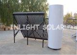 Sistema de aquecimento solar rachado de tubulação de calor da pressão para o aquecimento