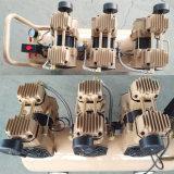compresor de aire de alta presión sin aceite silencioso portable 3X1400W