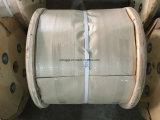 Cuerda de alambre de acero galvanizada 8*19s+Iwrc 8m m
