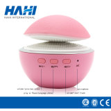 Mini walkman con el diseño rosado lindo de la seta para el altavoz