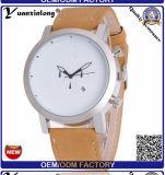 Yxl-378 형식 진짜 가죽 Mens 시계 Mvmt 크로노그래프 날짜 석영 손목 시계 호화스러운 사업 기계적인 시계