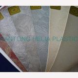 Cuir décoratif de capitonnage de vinyle de meubles de PVC