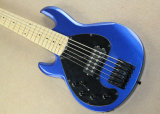 Musique de Hanhai/guitare basse électrique chaînes de caractères gauchères du bleu 6