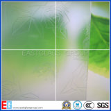 3-8mm 명확한 청동색 산은 세륨 & ISO9001를 가진 모방한 서리로 덥은 산성 유리를 식각했다